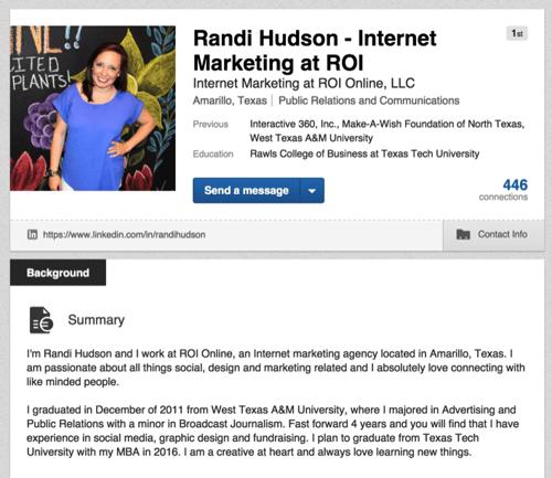 how to set up a business profile on linkedin