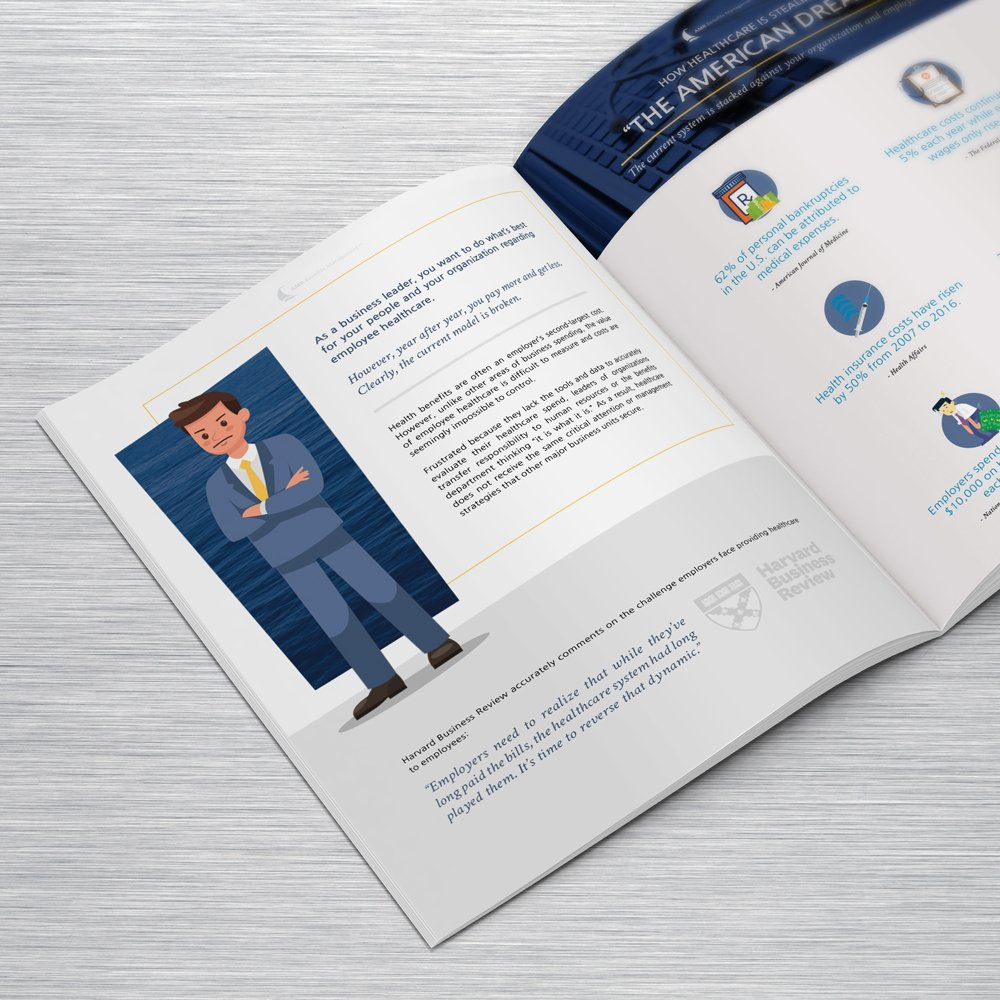 6 Key Elements - Free Whitepaper - Lead Generating Offer for AMR Benefits - Design by ROI Online Graphic